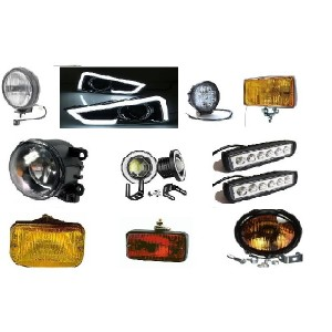 TRUCK PARTS & ACCESSORIES - FOG & WORKING LAMP